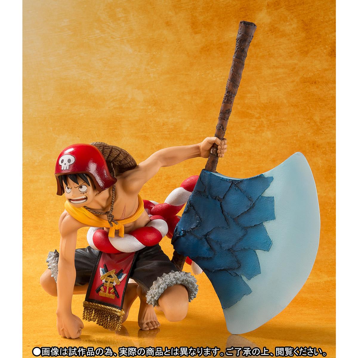 Link a One Piece Gold Monkey D Luffy Figuarts ZERO bandai pics 03