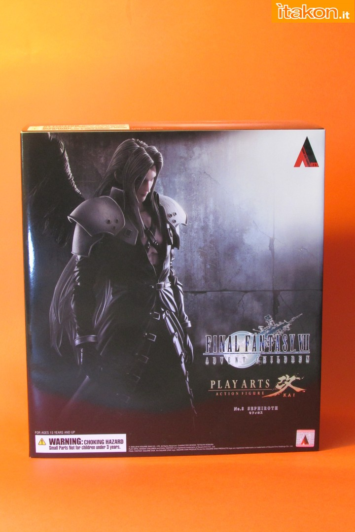 Link a recensione review sephiroth play arts kai da final fantasy vii advent children itakon.it -001