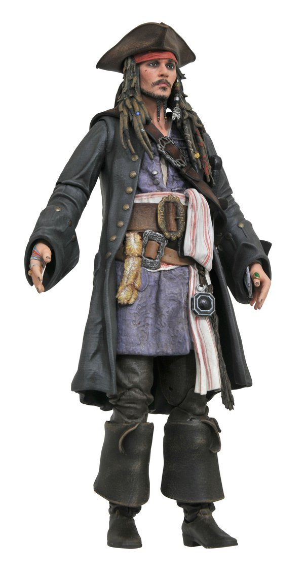 Link a Pirates of the Caribbean Diamond Select Jack Sparrow pre 01