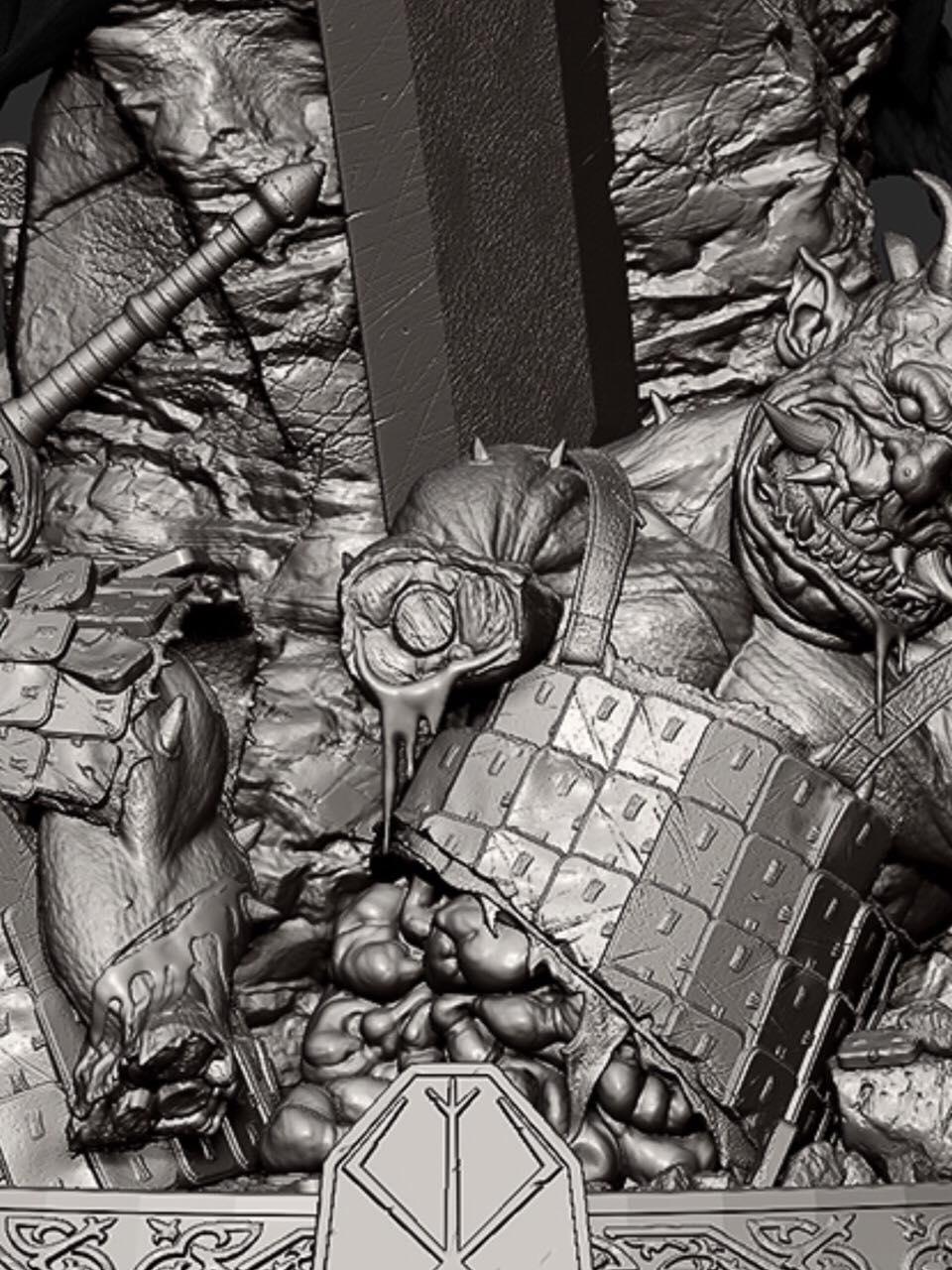 Link a berserk – guts – berserker armor – primi teaser – 2