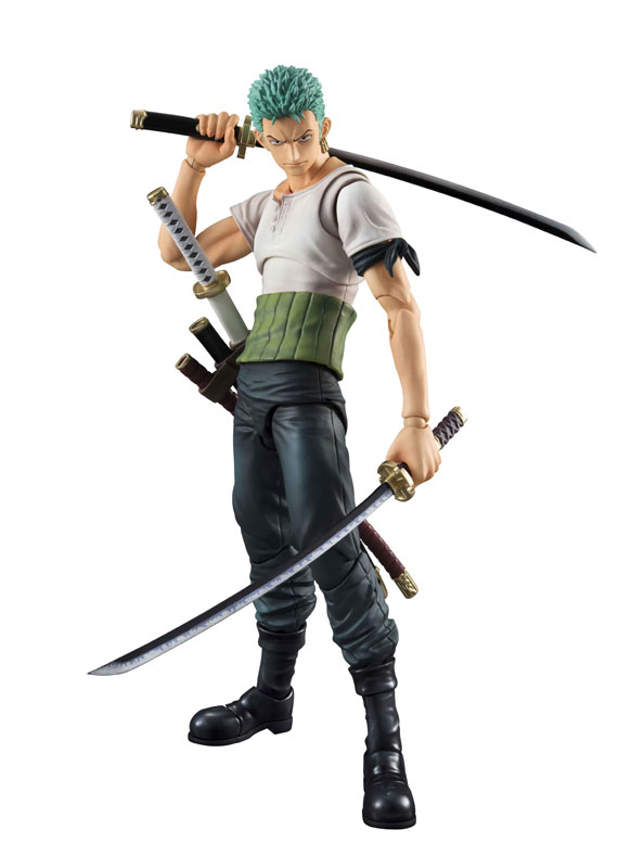 Link a One Piece Zoro VAH Past Blue MegaHouse 01
