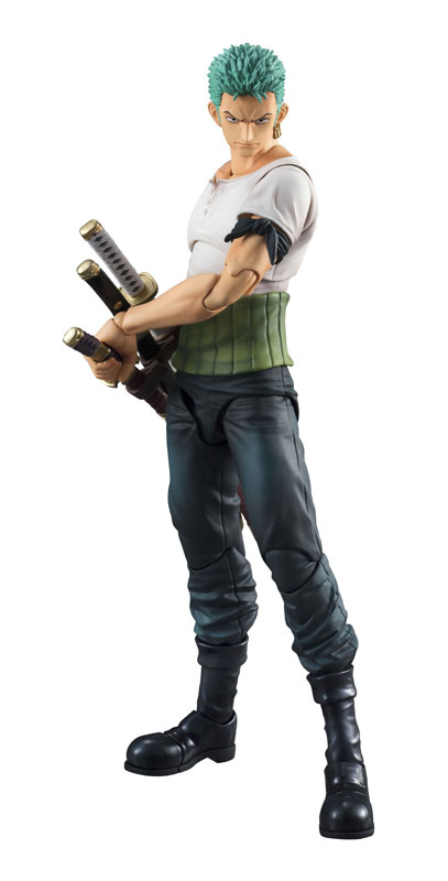 Link a One Piece Zoro VAH Past Blue MegaHouse 02