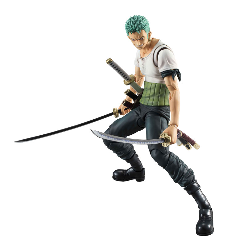 Link a One Piece Zoro VAH Past Blue MegaHouse 03