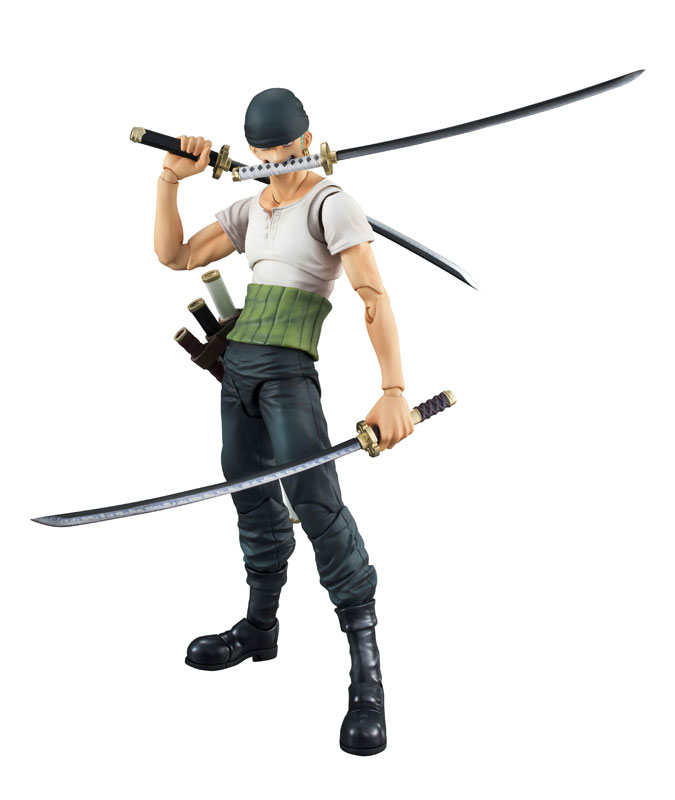 Link a One Piece Zoro VAH Past Blue MegaHouse 05