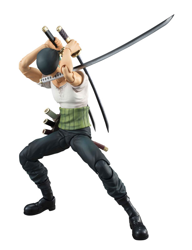 Link a One Piece Zoro VAH Past Blue MegaHouse 07