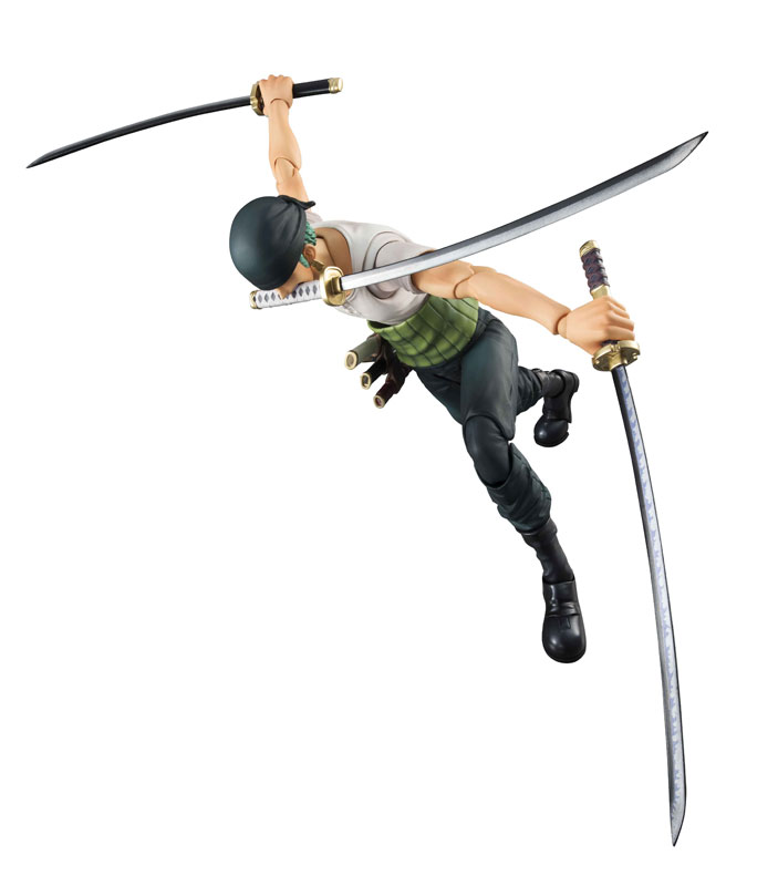 Link a One Piece Zoro VAH Past Blue MegaHouse 08