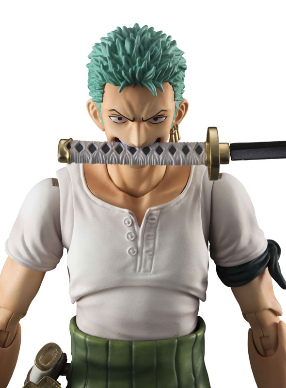 Link a One Piece Zoro VAH Past Blue MegaHouse 10