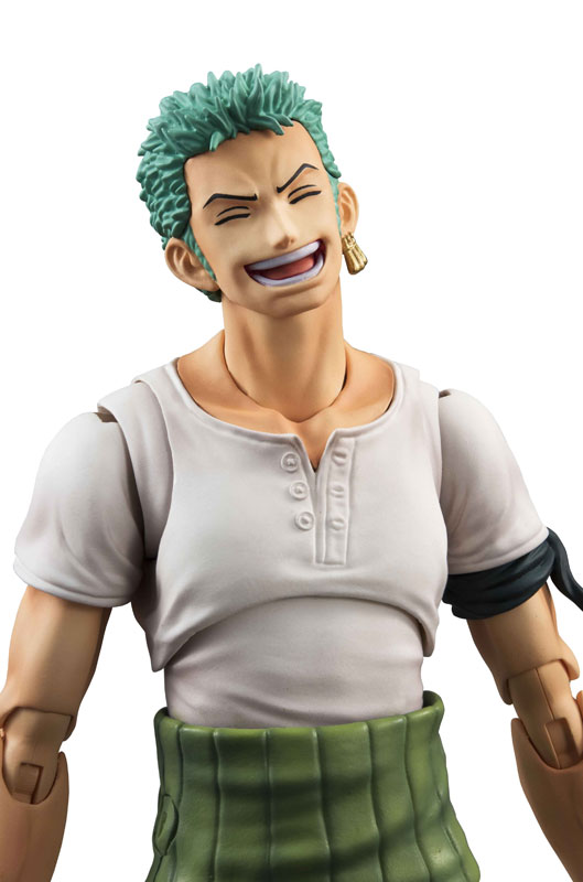 Link a One Piece Zoro VAH Past Blue MegaHouse 12