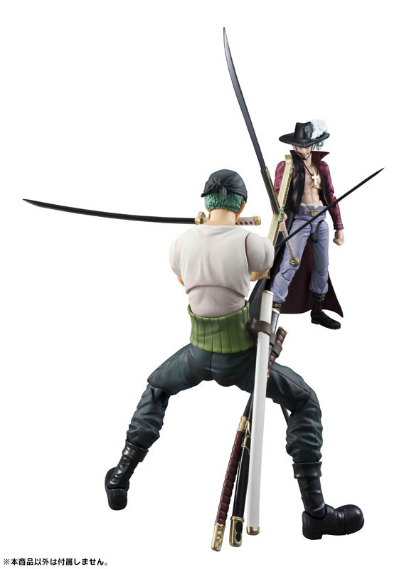 Link a One Piece Zoro VAH Past Blue MegaHouse 14