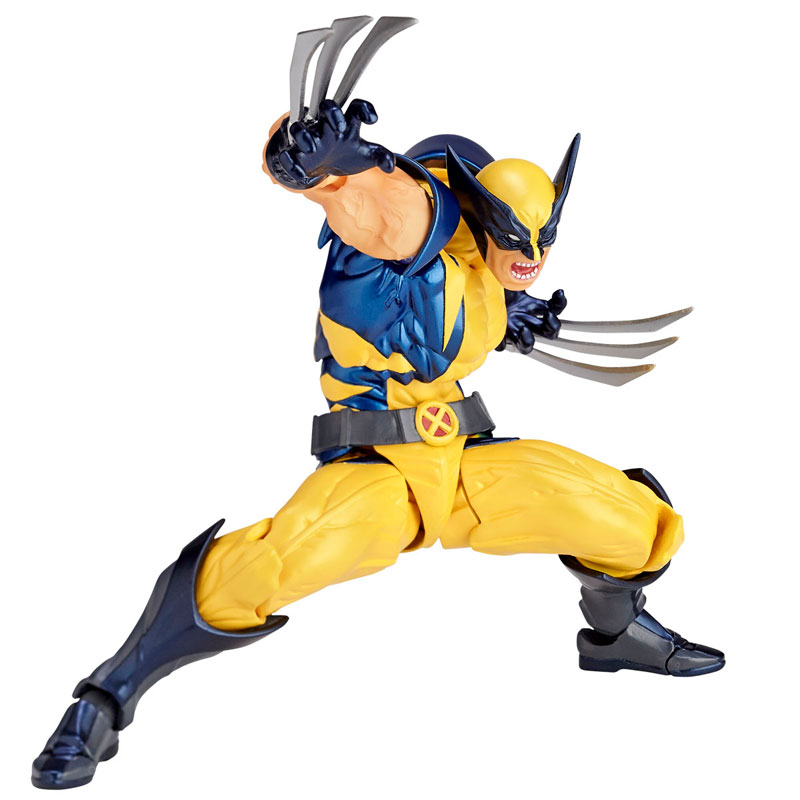 Link a Wolverine Revoltech Amazing Yamaguchi Figure Complex 01