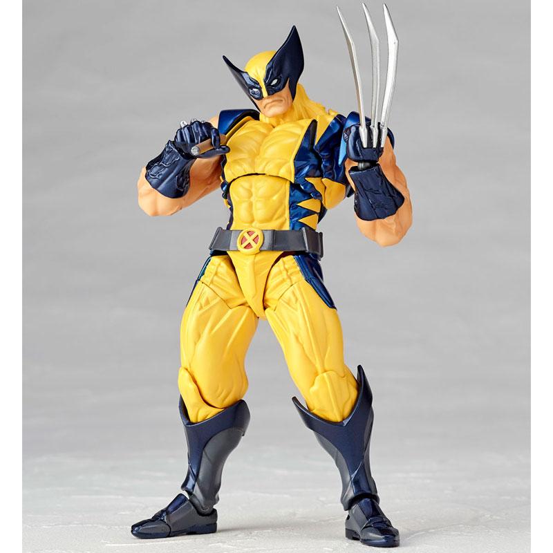 Link a Wolverine Revoltech Amazing Yamaguchi Figure Complex 02
