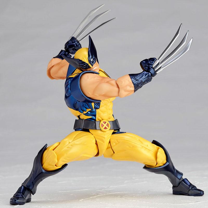 Link a Wolverine Revoltech Amazing Yamaguchi Figure Complex 05
