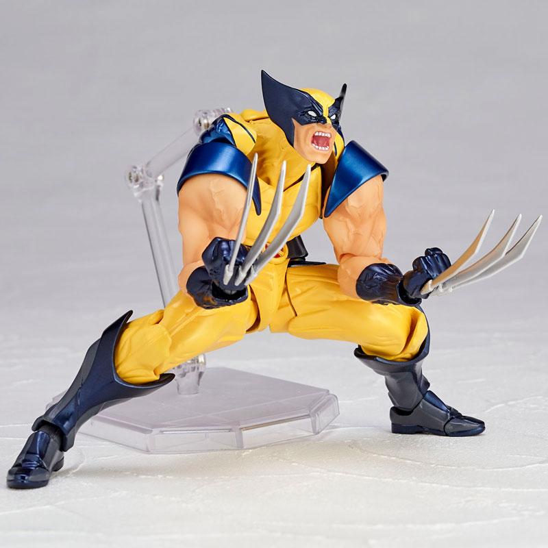 Link a Wolverine Revoltech Amazing Yamaguchi Figure Complex 08