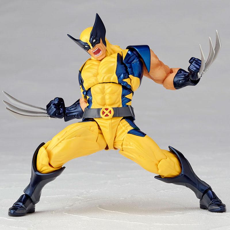 Link a Wolverine Revoltech Amazing Yamaguchi Figure Complex 10