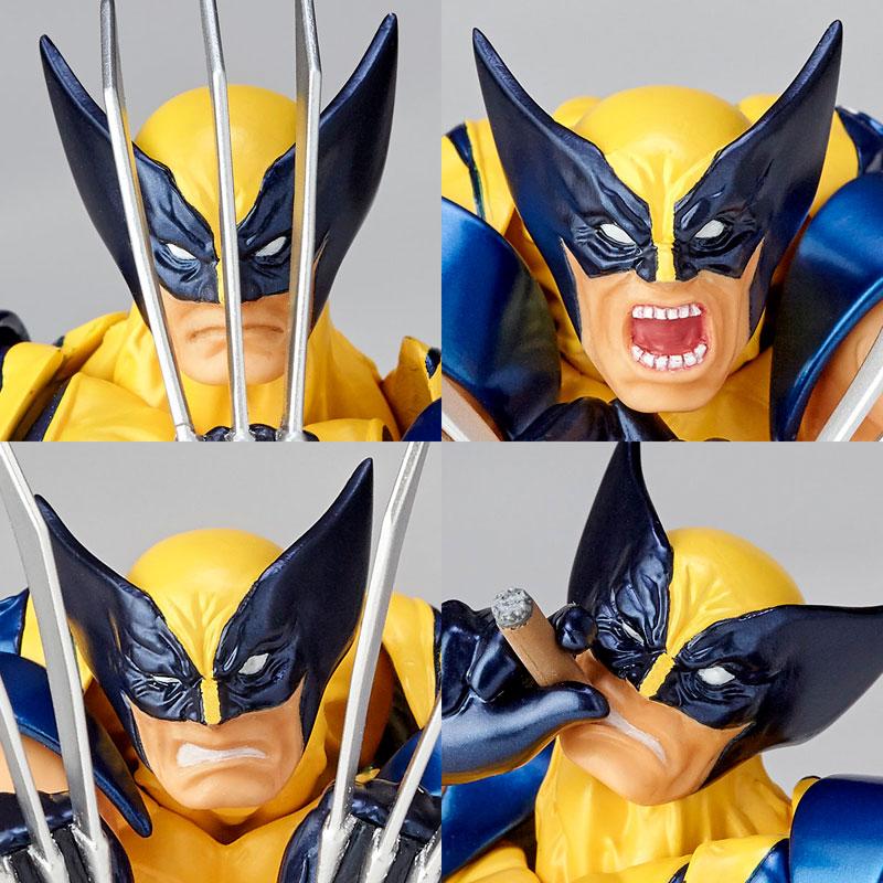 Link a Wolverine Revoltech Amazing Yamaguchi Figure Complex 11