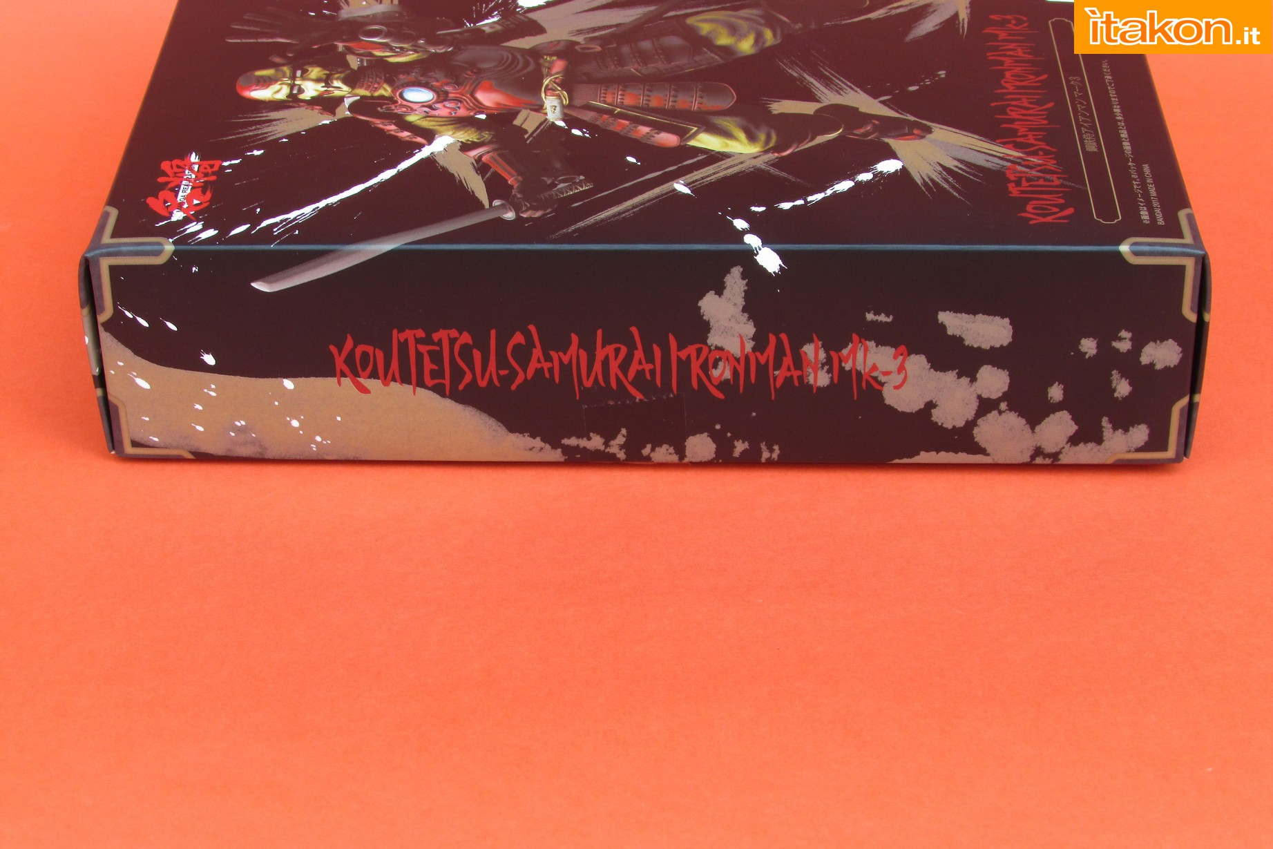 Link a Marvel Comics Koutetsu Samurai Iron Man Mark 3 Meishou MANGA REALIZATION review Bandai Itakon.it04