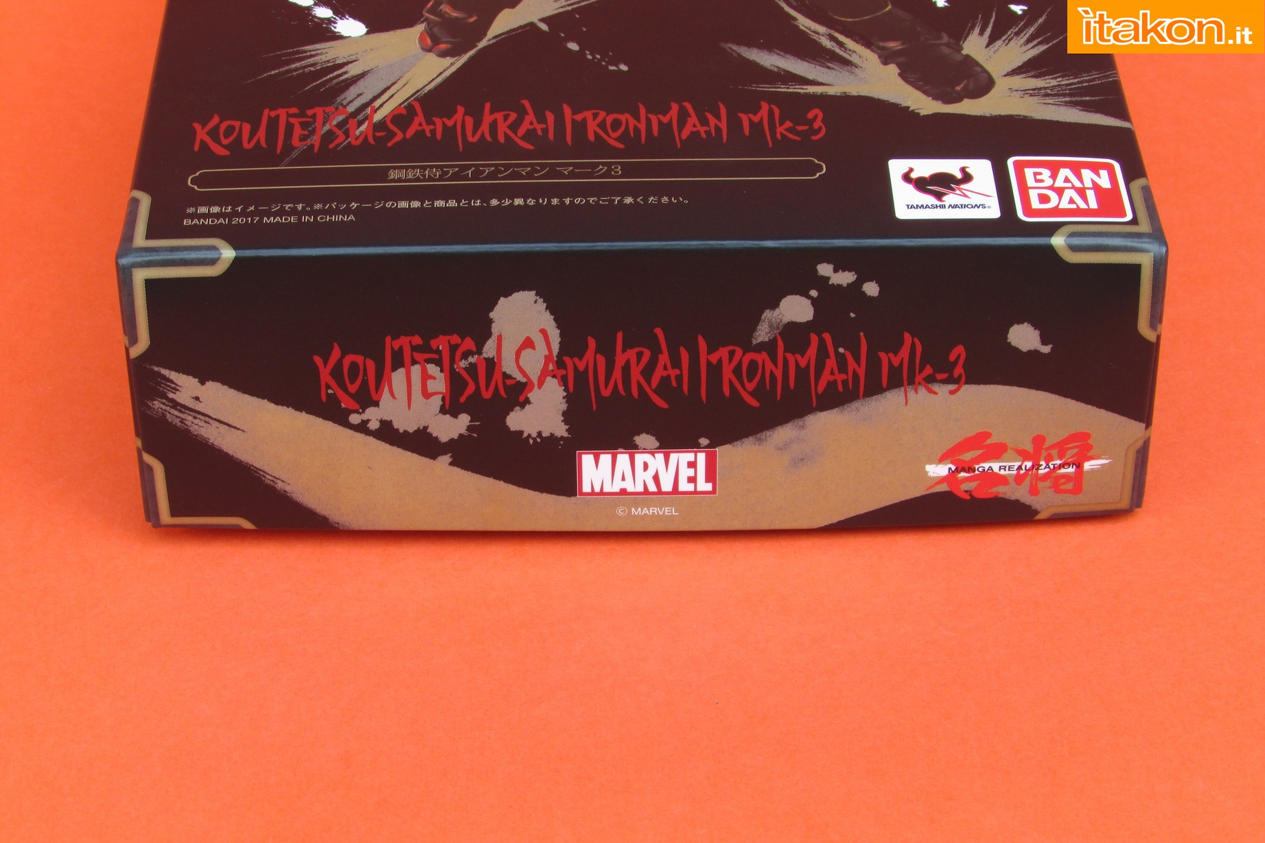 Link a Marvel Comics Koutetsu Samurai Iron Man Mark 3 Meishou MANGA REALIZATION review Bandai Itakon.it05