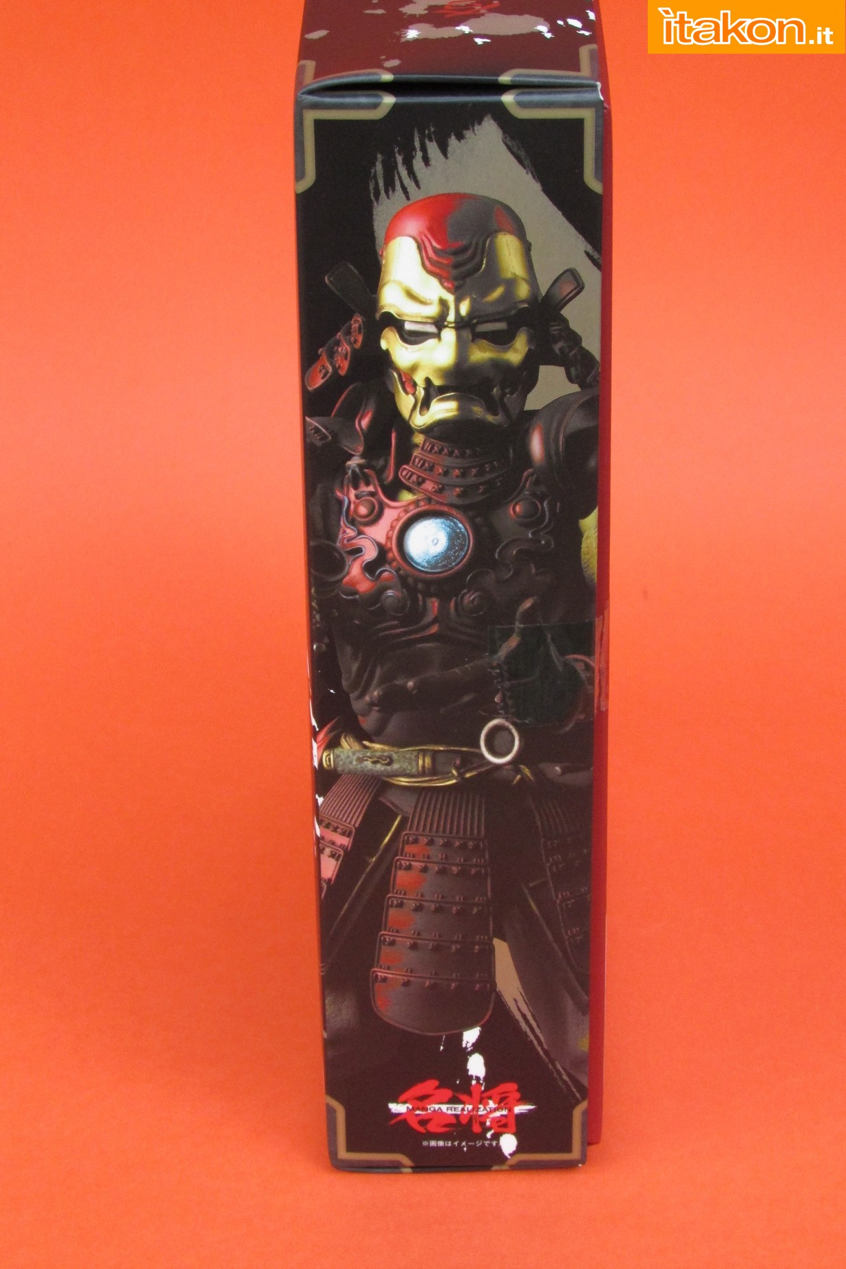 Link a Marvel Comics Koutetsu Samurai Iron Man Mark 3 Meishou MANGA REALIZATION review Bandai Itakon.it06