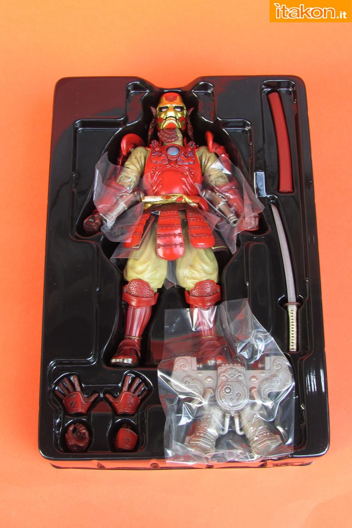 Link a Marvel Comics Koutetsu Samurai Iron Man Mark 3 Meishou MANGA REALIZATION review Bandai Itakon.it10