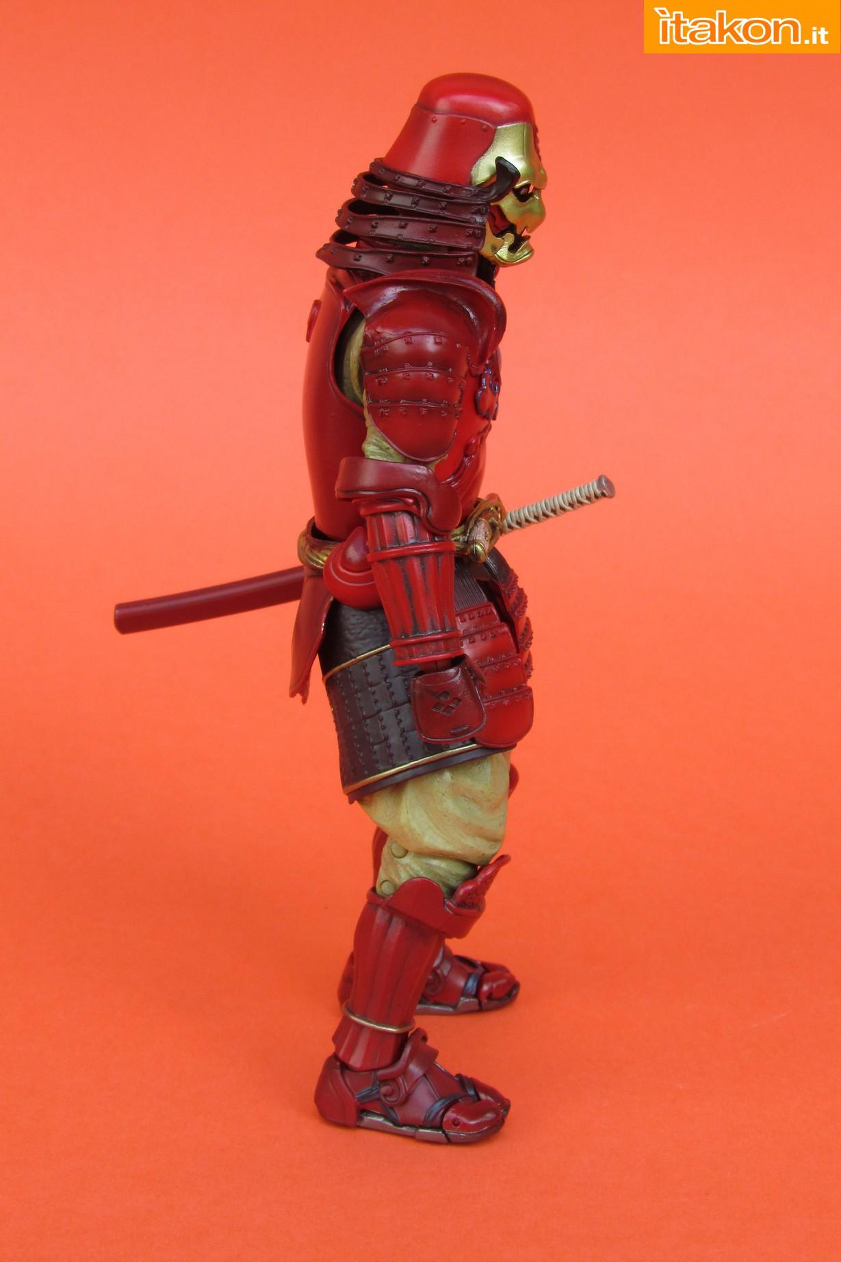 Link a Marvel Comics Koutetsu Samurai Iron Man Mark 3 Meishou MANGA REALIZATION review Bandai Itakon.it14