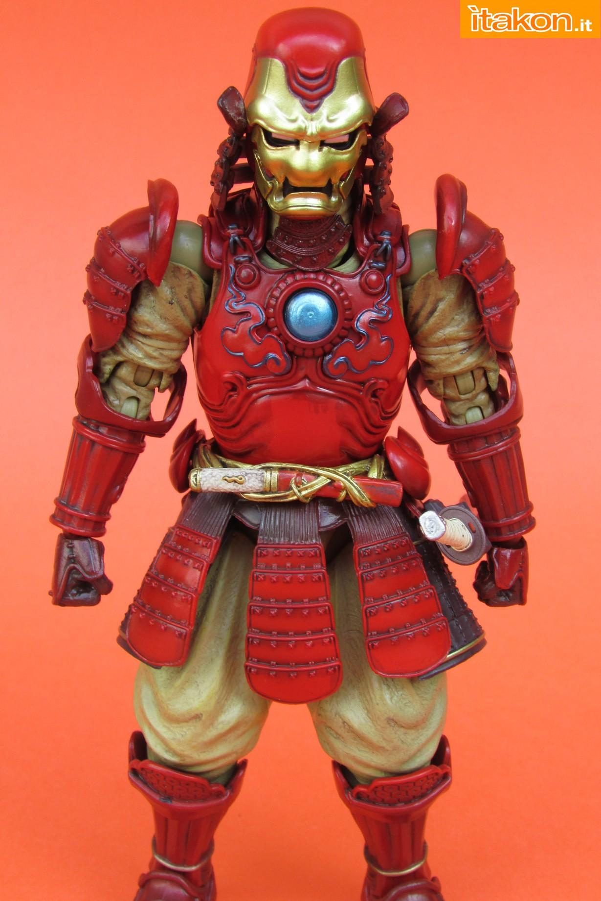 Link a Marvel Comics Koutetsu Samurai Iron Man Mark 3 Meishou MANGA REALIZATION review Bandai Itakon.it15