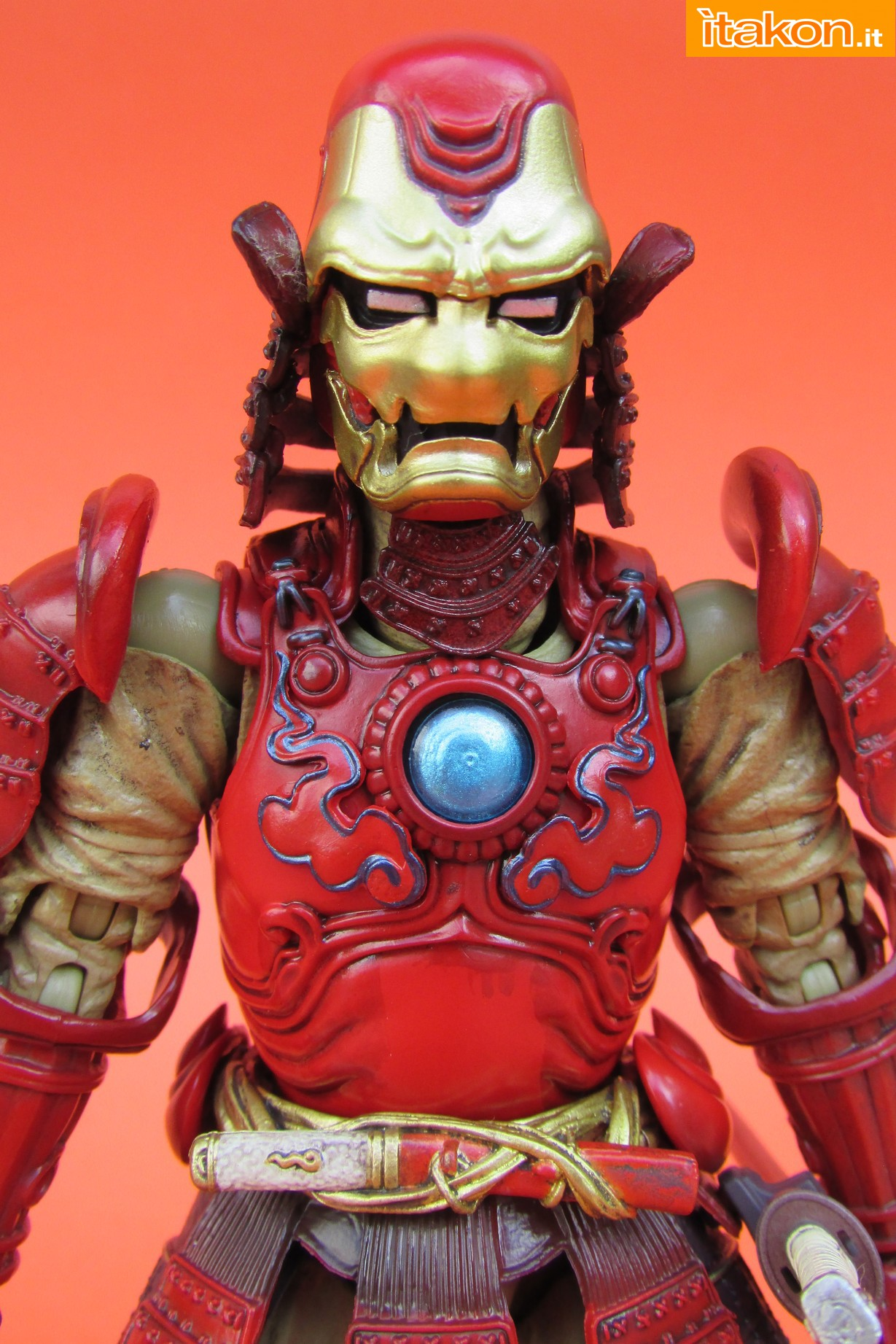 Link a Marvel Comics Koutetsu Samurai Iron Man Mark 3 Meishou MANGA REALIZATION review Bandai Itakon.it16
