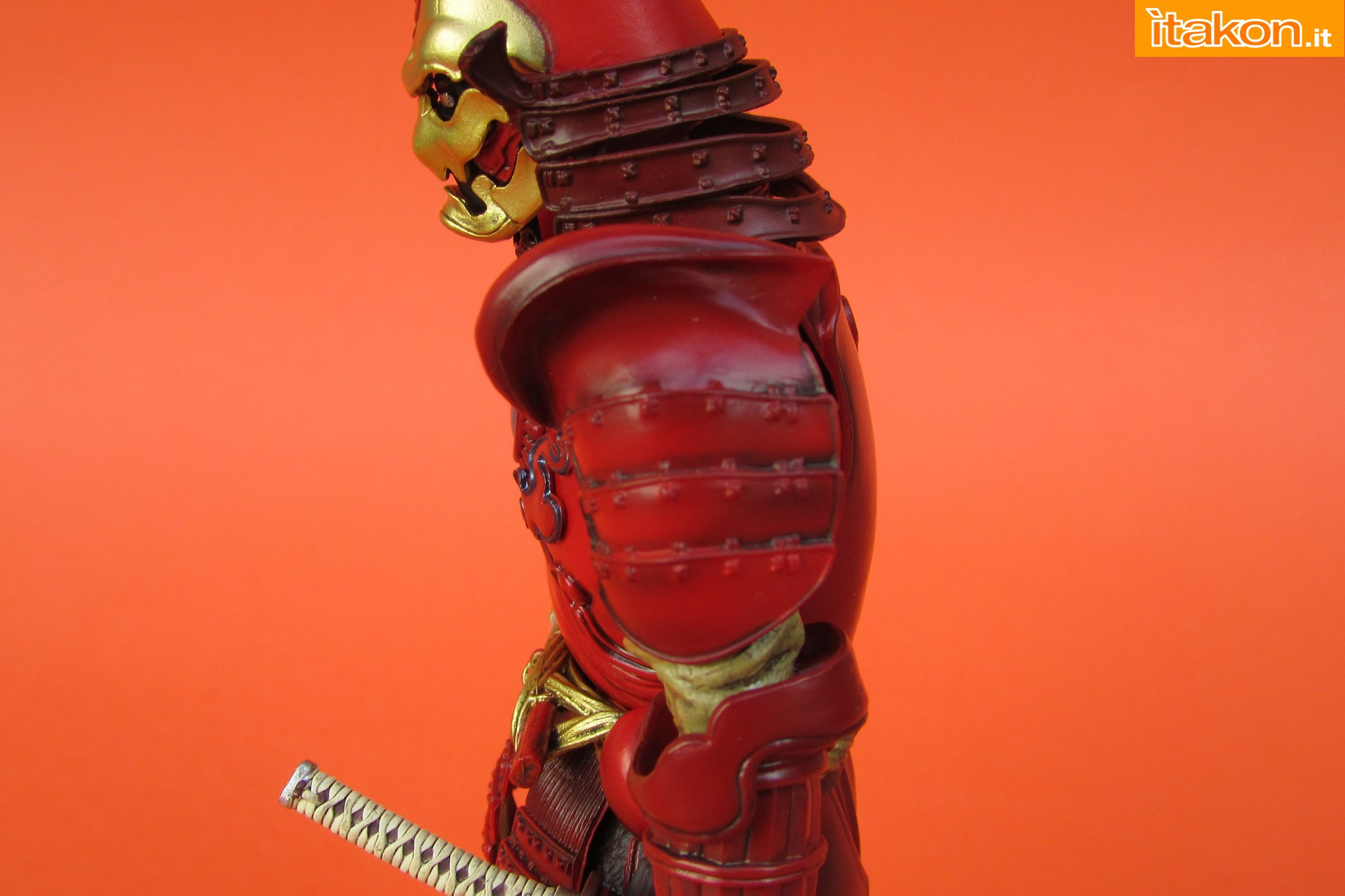 Link a Marvel Comics Koutetsu Samurai Iron Man Mark 3 Meishou MANGA REALIZATION review Bandai Itakon.it24