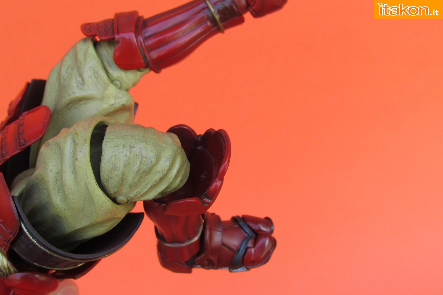 Link a Marvel Comics Koutetsu Samurai Iron Man Mark 3 Meishou MANGA REALIZATION review Bandai Itakon.it30