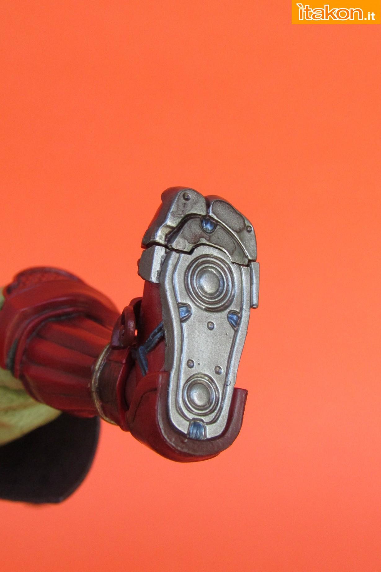 Link a Marvel Comics Koutetsu Samurai Iron Man Mark 3 Meishou MANGA REALIZATION review Bandai Itakon.it33