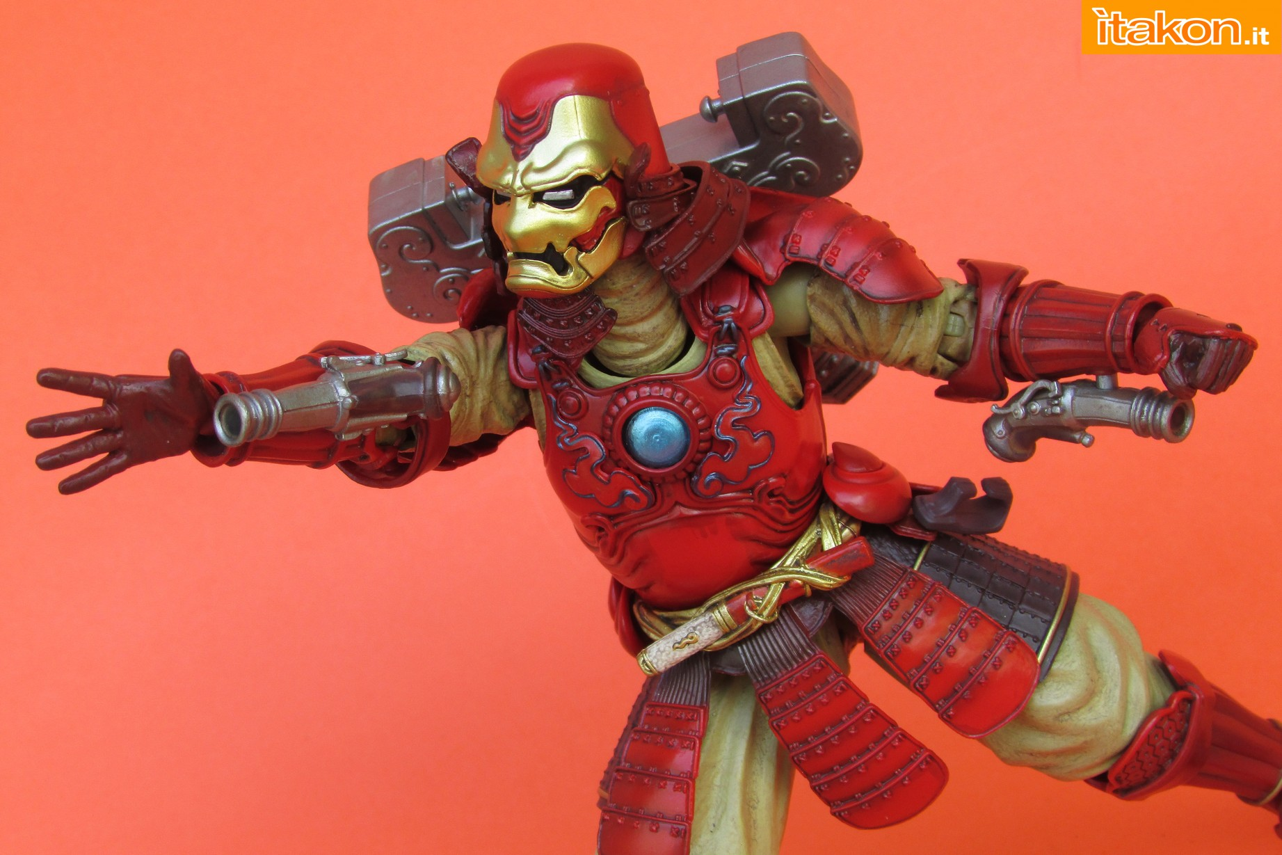 Link a Marvel Comics Koutetsu Samurai Iron Man Mark 3 Meishou MANGA REALIZATION review Bandai Itakon.it36