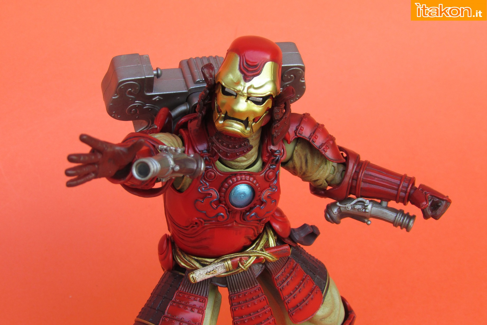 Link a Marvel Comics Koutetsu Samurai Iron Man Mark 3 Meishou MANGA REALIZATION review Bandai Itakon.it37