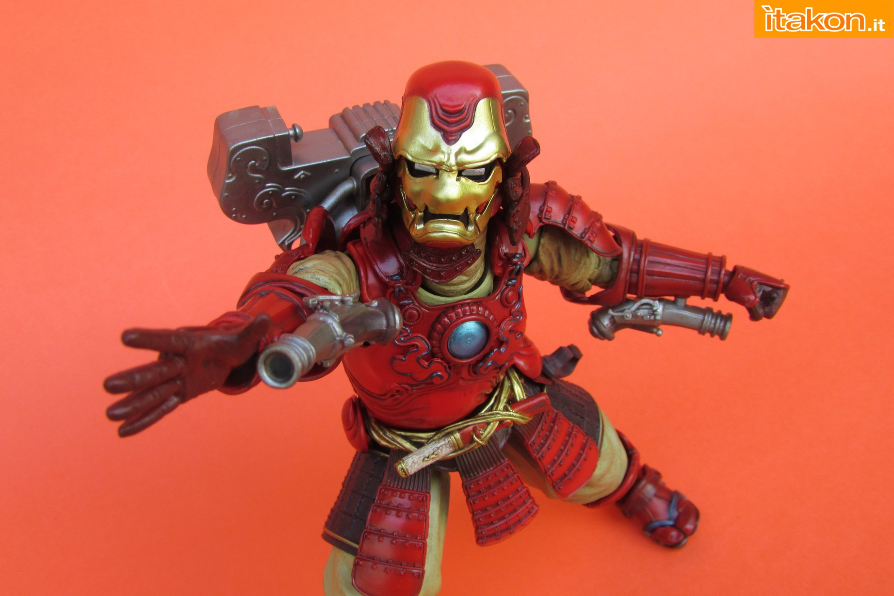 Link a Marvel Comics Koutetsu Samurai Iron Man Mark 3 Meishou MANGA REALIZATION review Bandai Itakon.it38