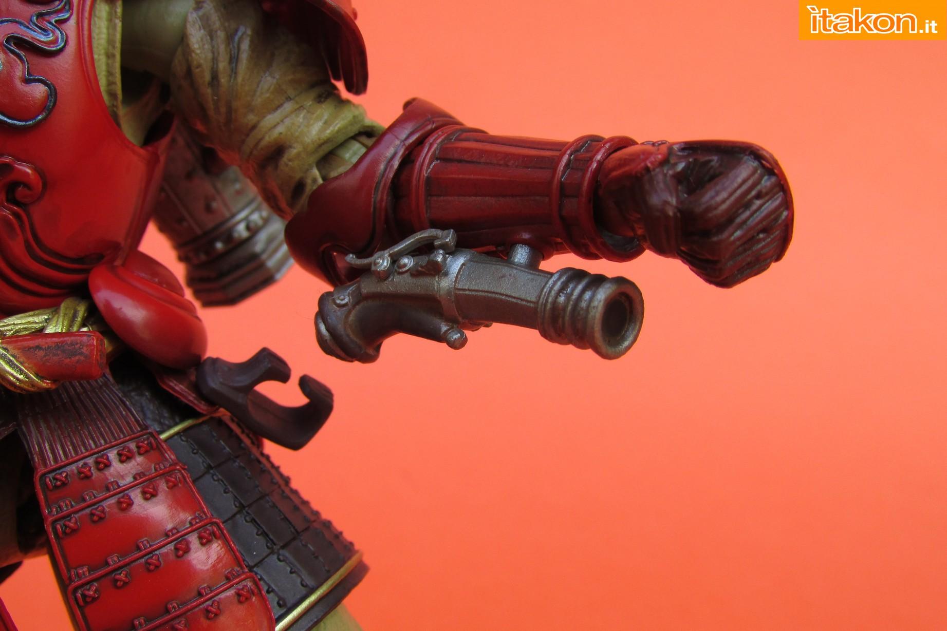 Link a Marvel Comics Koutetsu Samurai Iron Man Mark 3 Meishou MANGA REALIZATION review Bandai Itakon.it44