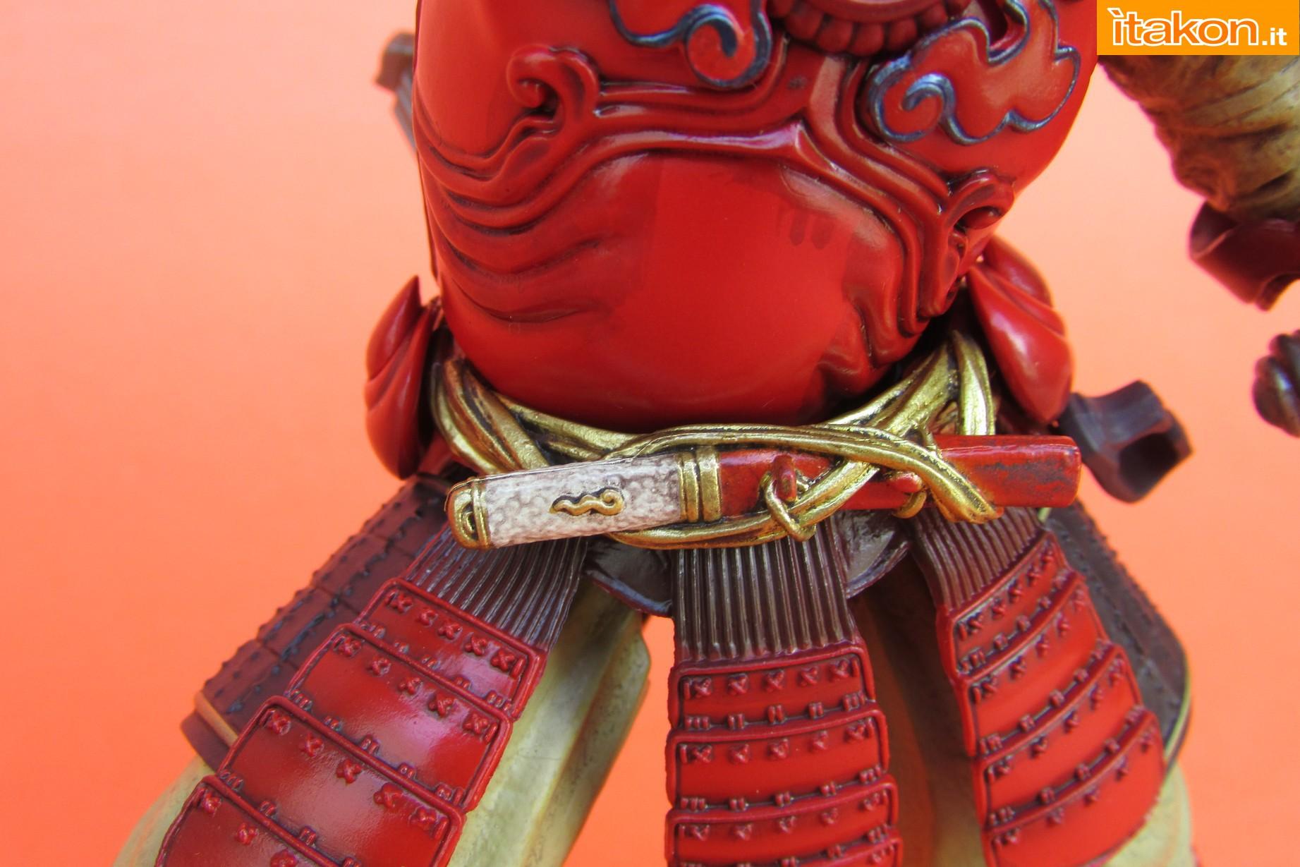 Link a Marvel Comics Koutetsu Samurai Iron Man Mark 3 Meishou MANGA REALIZATION review Bandai Itakon.it45