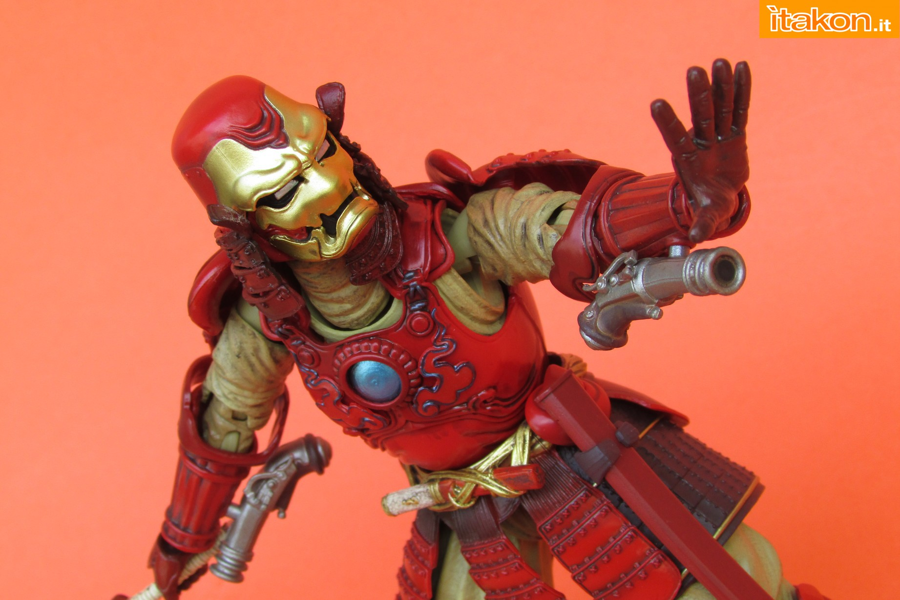 Link a Marvel Comics Koutetsu Samurai Iron Man Mark 3 Meishou MANGA REALIZATION review Bandai Itakon.it55
