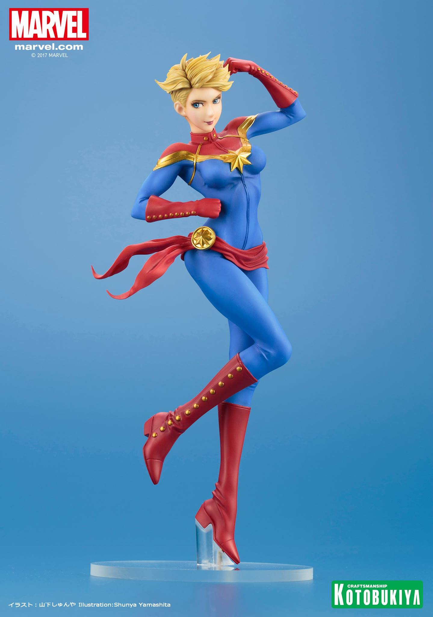 Link a Captain-Marvel-Bishoujo-Statue