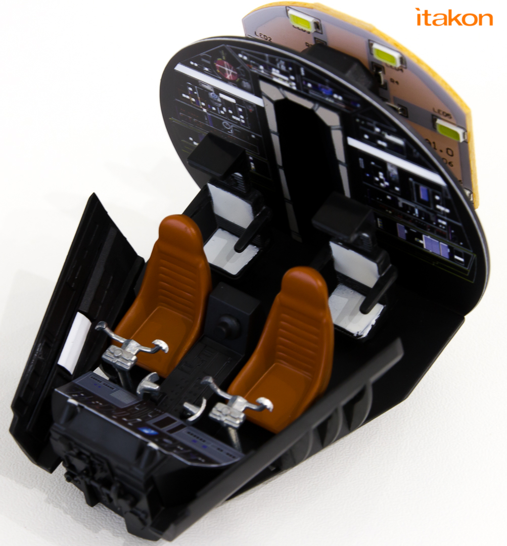 Link a De Agostini ModelSpace Millenniun Falcon Itakon Anktales-29