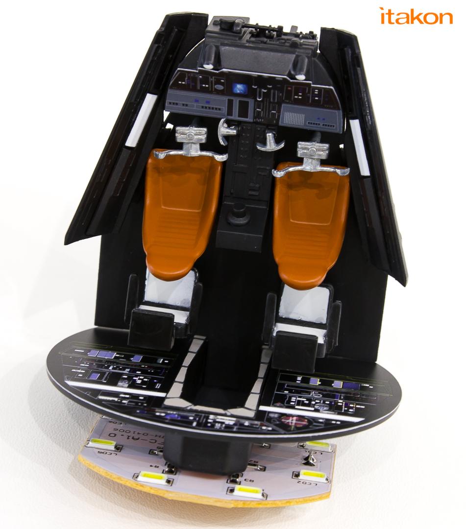 Link a De Agostini ModelSpace Millenniun Falcon Itakon Anktales-9