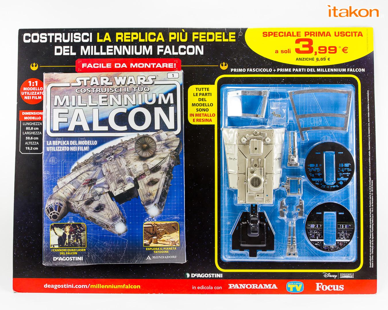 Link a De Agostini ModelSpace Millenniun Falcon Itakon Anktales