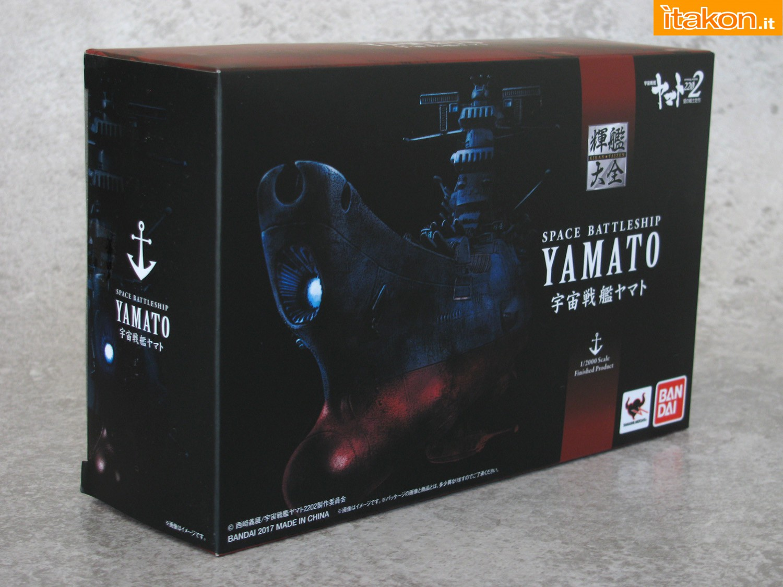 Link a 002 Space Battleship Yamato Bandai recensione