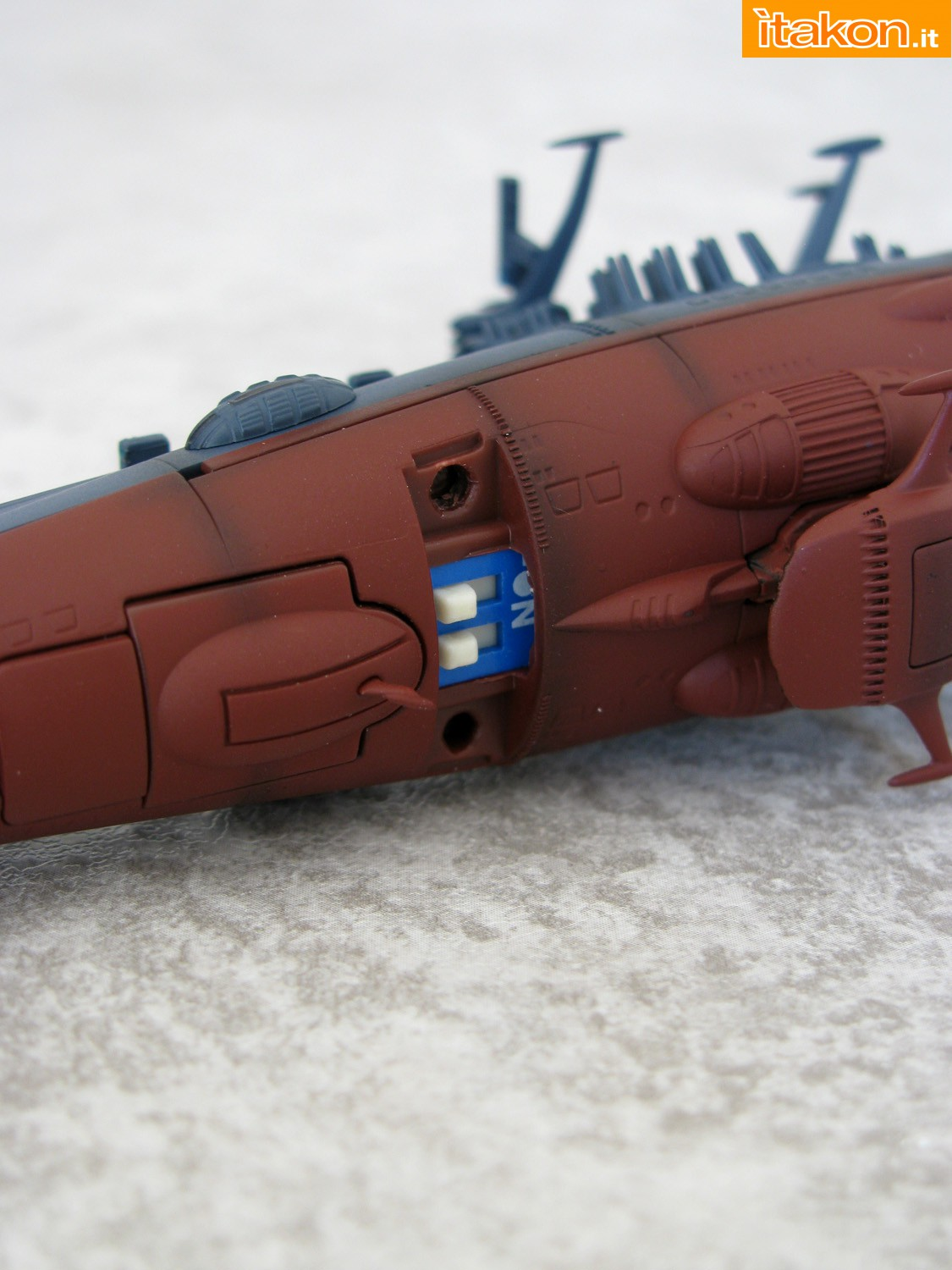 Link a 011 Space Battleship Yamato Bandai recensione