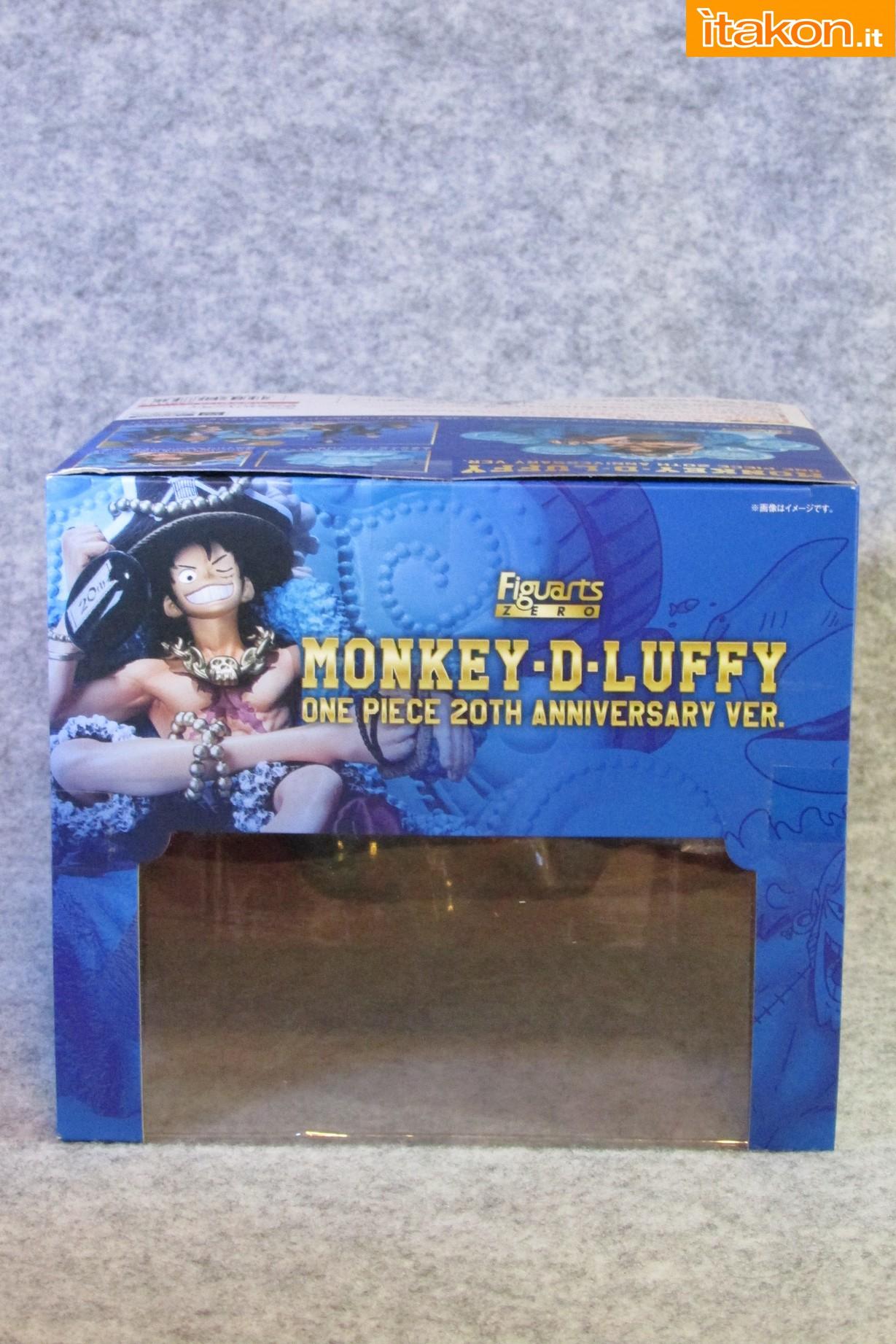 Link a Recensione Review Monkey D. Luffy One Piece 20th Anniversary ver. Figuarts ZERO di Bandai 06