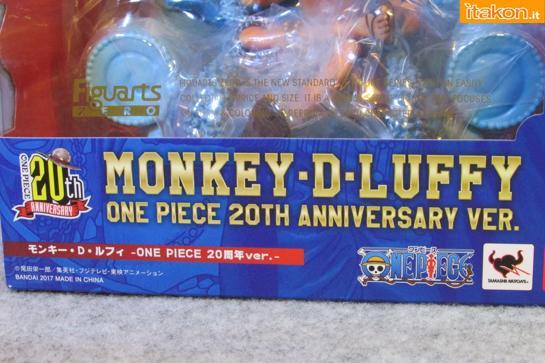 Link a Recensione Review Monkey D. Luffy One Piece 20th Anniversary ver. Figuarts ZERO di Bandai 07