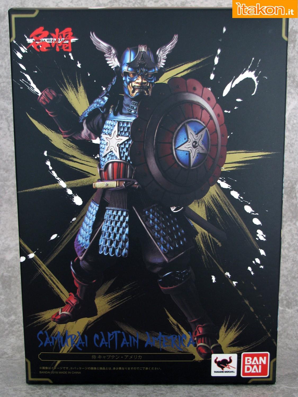 Link a 002 Samurai Captain America Manga Realization Bandai recensione