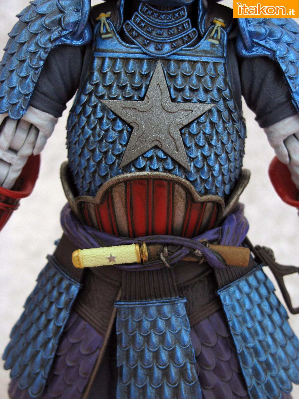 Link a 017 Samurai Captain America Manga Realization Bandai recensione