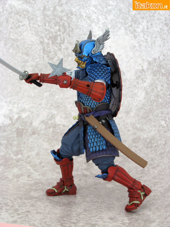 Link a 036 Samurai Captain America Manga Realization Bandai recensione