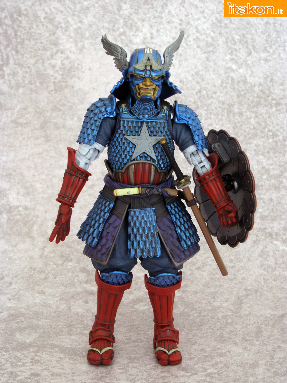 Link a 049 Samurai Captain America Manga Realization Bandai recensione