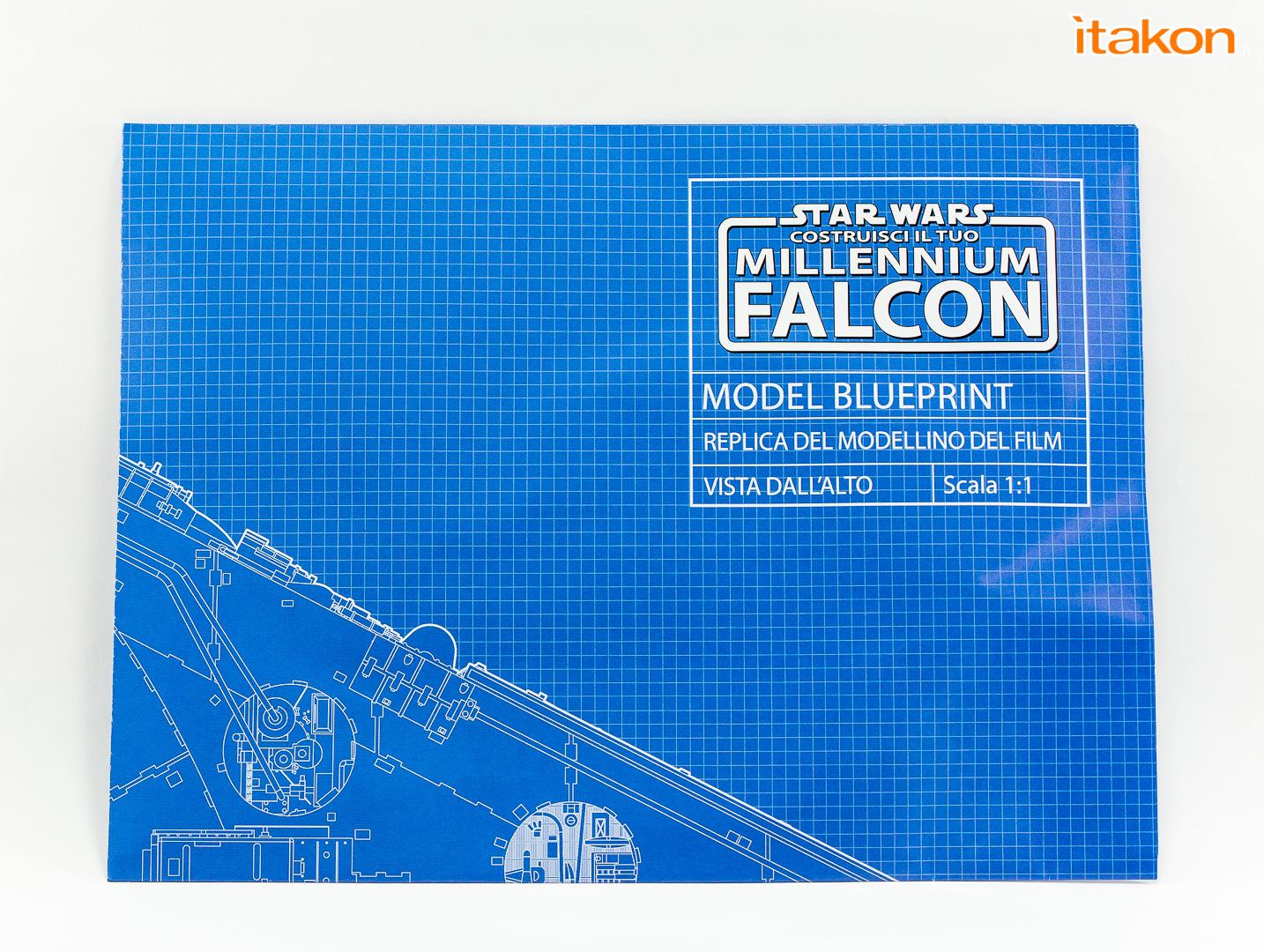 Link a De Agostini Model Space Millenniun Falcon Itakon 456
