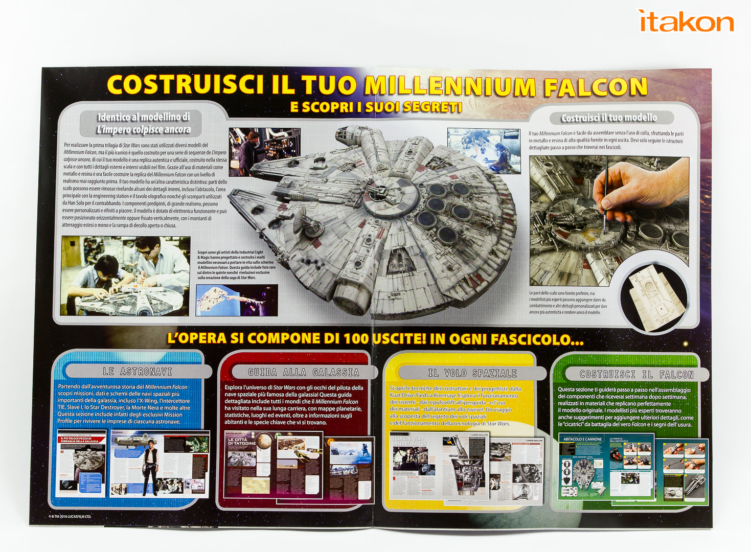Link a De Agostini ModelSpace Millenniun Falcon Itakon Anktales-14
