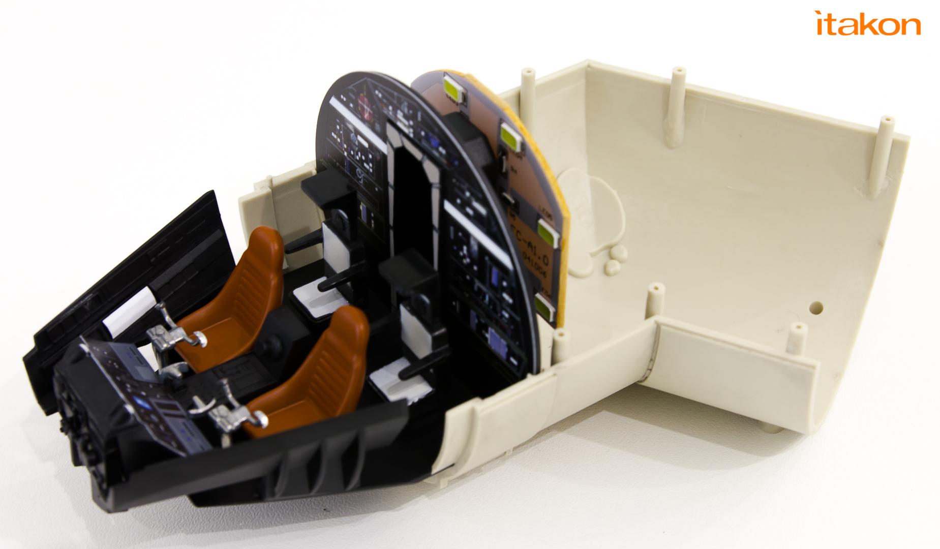 Link a De Agostini ModelSpace Millenniun Falcon Itakon _29